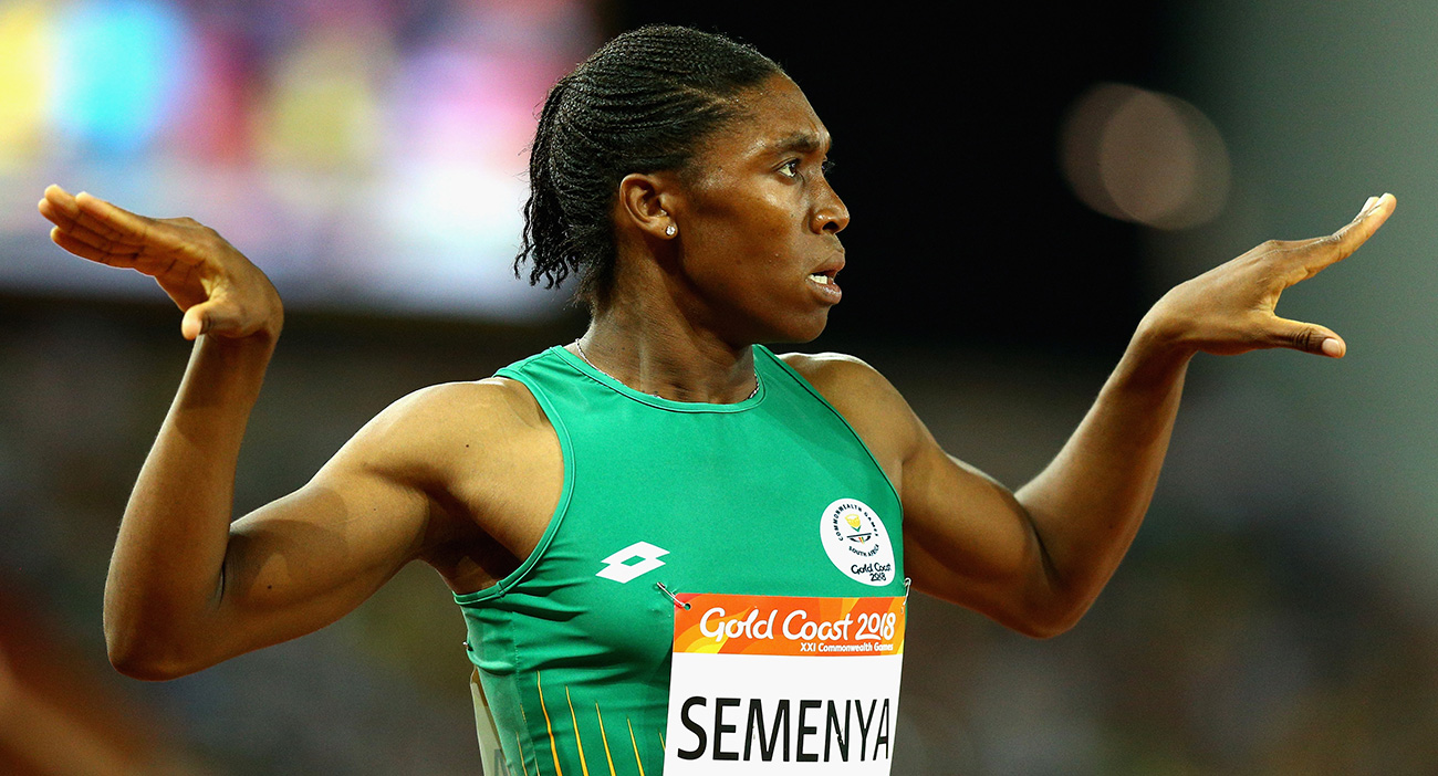 Caster Semenya wins the gold medal in the women's 800m