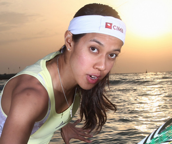 Nicol David is aiming to win the Wold Championship and the COmmonwealth Games gold medal.